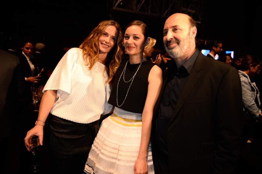 Cécile de France, Cédric Klapisch et Marion Cotillard