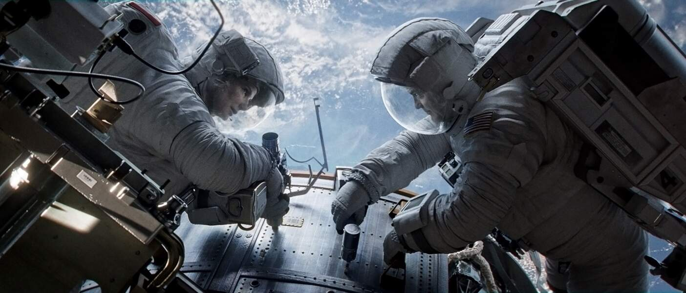 Gravity (Alfonso Cuarón, 2013) : avec George Clooney