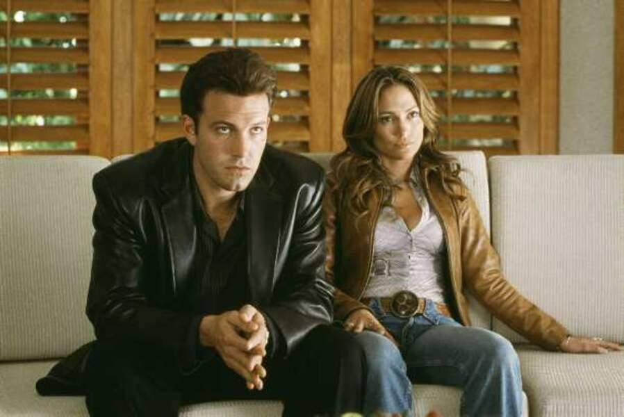 Jennifer Lopez et Ben Afleck dans Amours troubles (2003)