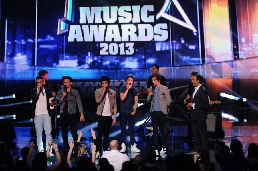 One Direction, groupe international de l'année