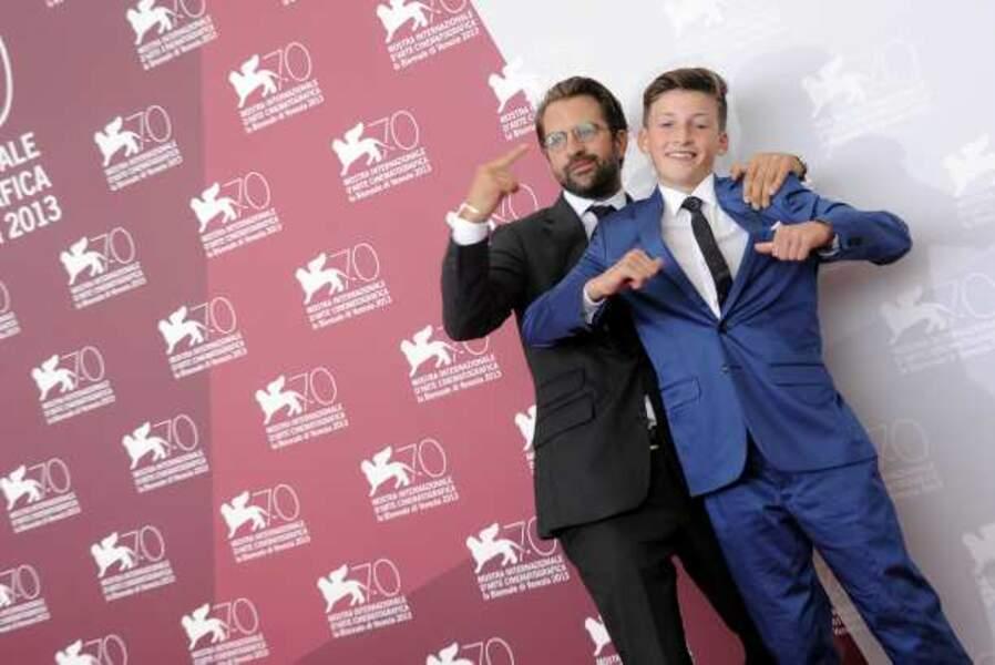 Rick Ostermann, le réalisateur de Wolfschildren, et Levin Liam, son acteur principal