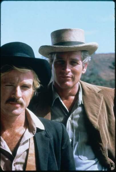 Butch Cassidy et le Kid, de George Roy Hill (1969). Avec Paul Newman