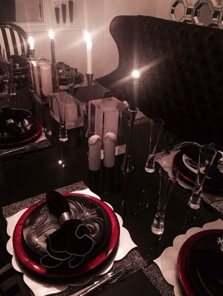 Chic, la table de Rihanna !