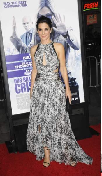 """Sandra Bullock à l'avant-première du film """"Our band is crisis"""" (2014)"""
