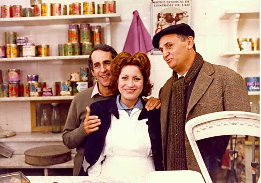 Dans le téléfilm Au bon beurre, Roger Hanin incarne un crémier pétainiste (1981)