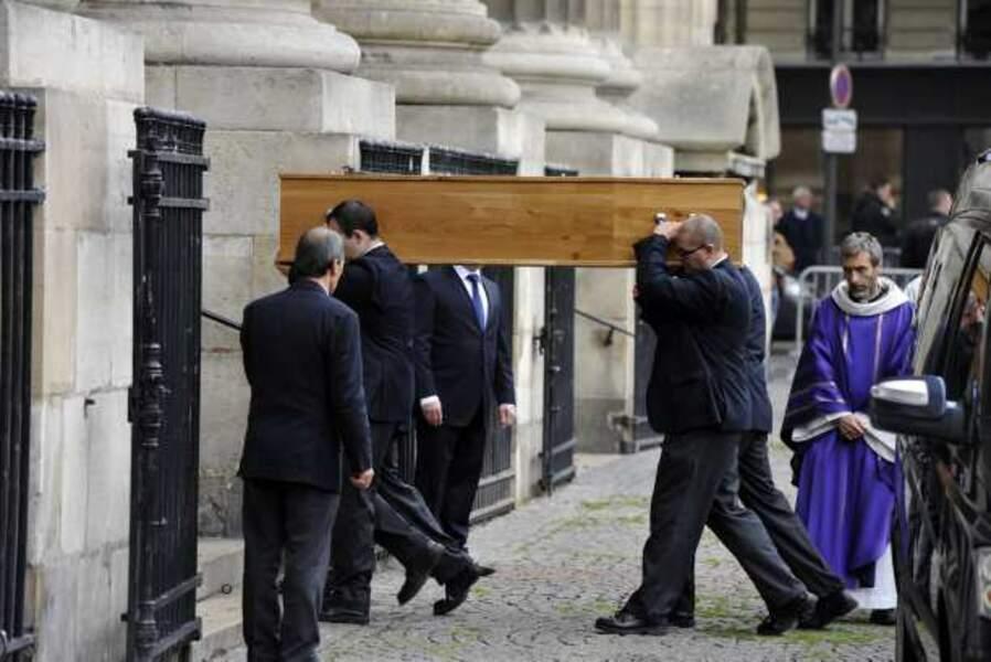 Les obsèques de Patrice Chereau à l'église Saint-Sulpice à Paris