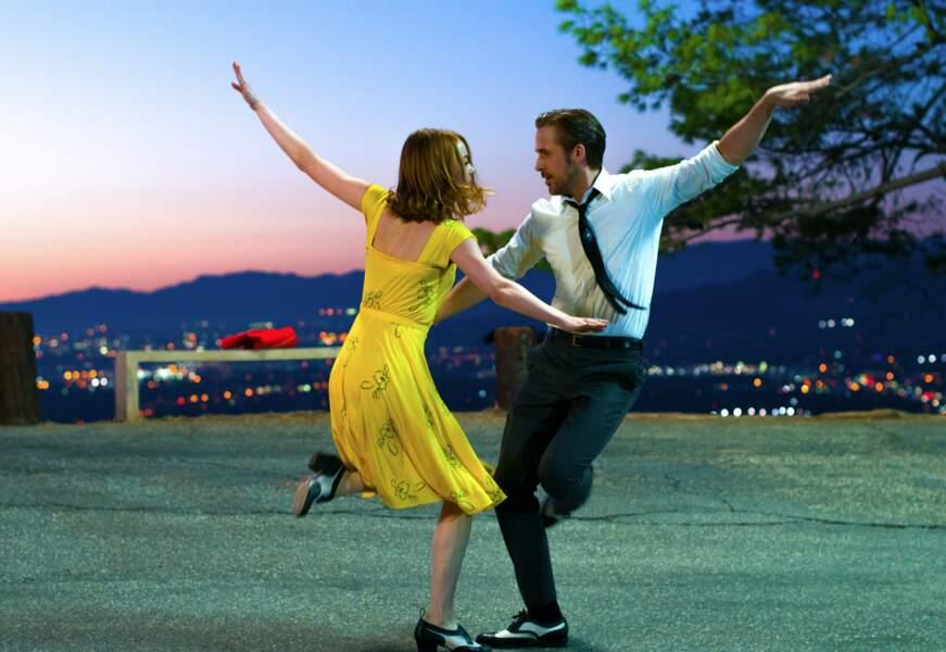Un film qui a l'air de mettre les deux stars en joie ! Et qui rapportera un Oscar à Emma Stone...