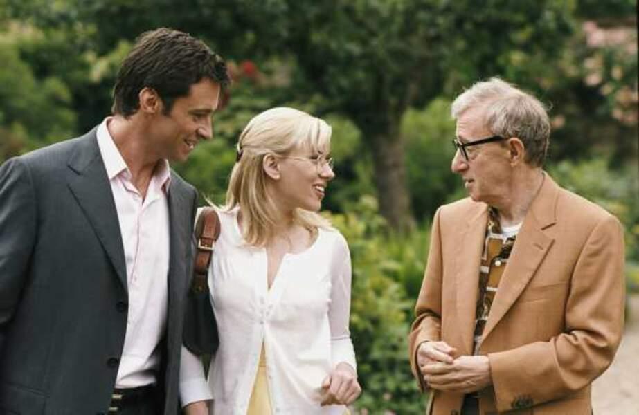 Scoop (de Woody Allen, 2006) : avec Scarlett Johansson et Woody Allen