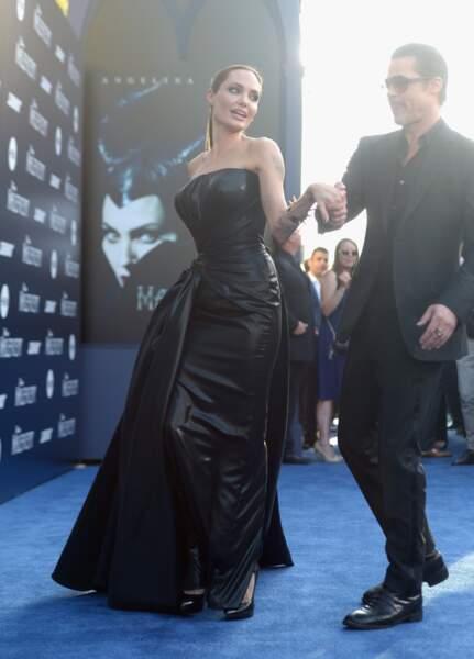 Brad Pitt a fait tournoyer sa belle