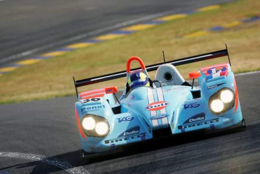 Paul Belmondo a couru sur une voiture du team Courage