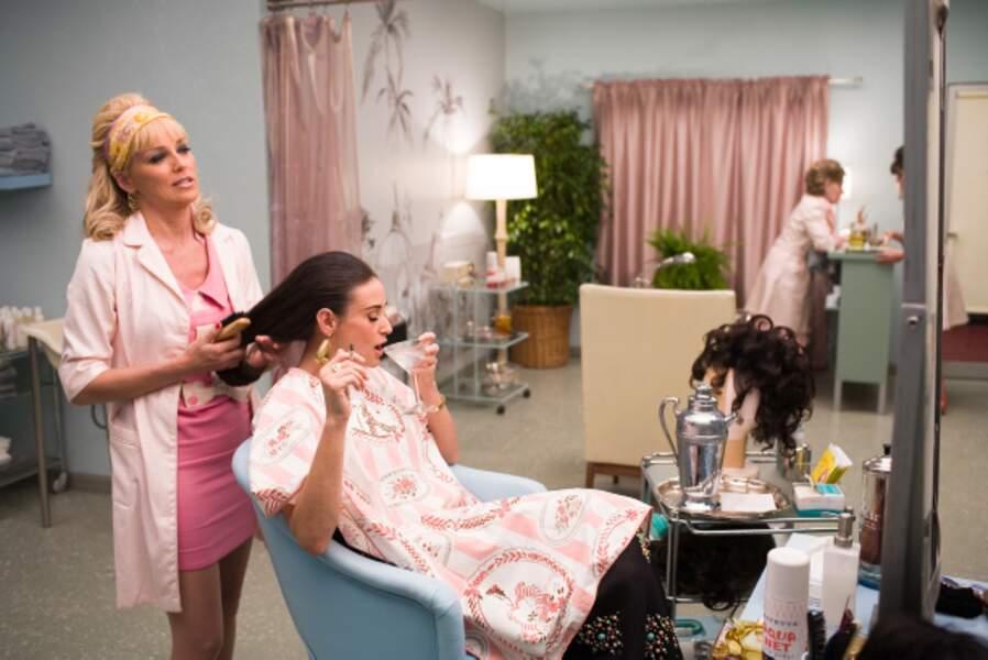 Avec Demi Moore dans Bobby de Emilio Estevez (2006)
