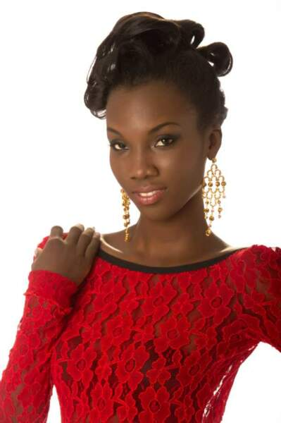 Miss Guyane ( Ruqayyah Boyer)