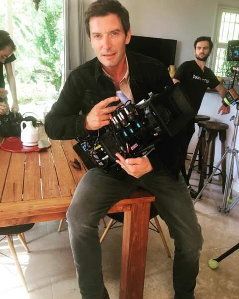 Franck Sémonin aurait-il changé de rôle pour le tournage de la saison 14 de Section de recherches ?