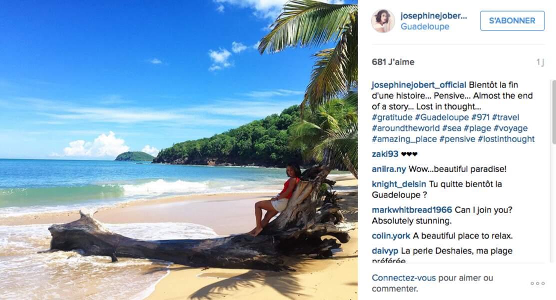 Et pendant ce temps, Joséphine Joubert tourne Meurtres au paradis en Guadeloupe