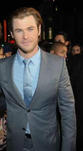 5) Chris Hemsworth : 27,4 millions d'euros