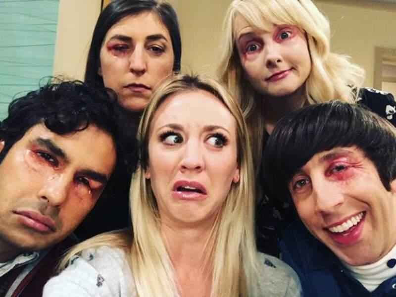 Soupe à la grimace pour le casting de Big Bang Theory;