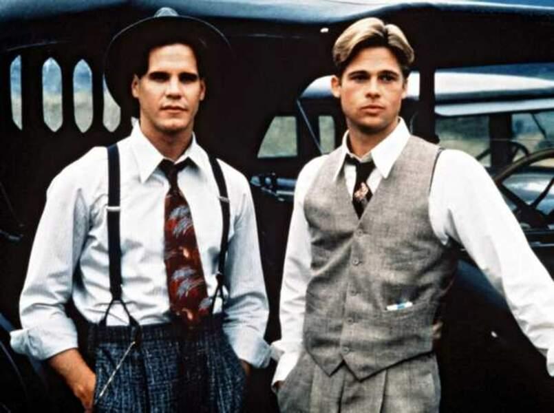 Et au milieu coule une rivière, de Robert Redford (1992). Avec Craig Sheffer et Brad Pitt