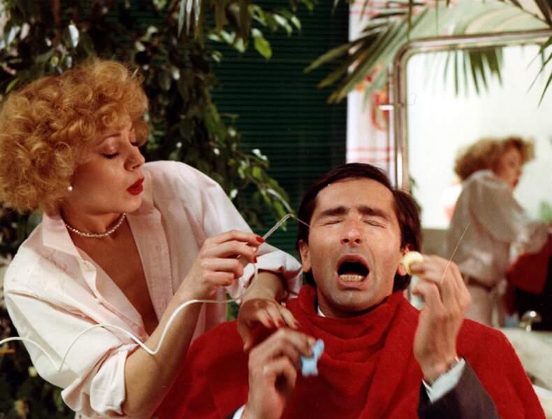 Grace de Capitani dans Les Ripoux (1984), avec Thierry Lhermitte