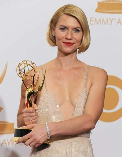 Claire Danes, star de Homeland, fière de son prix