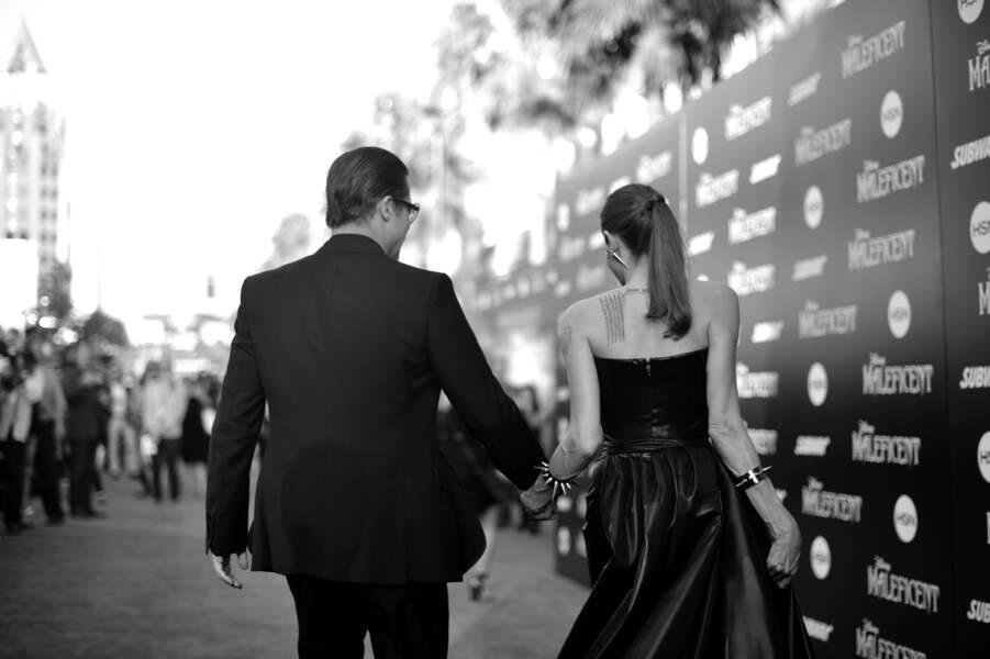 Brad Pitt et Angelina Jolie s'en vont au bal...