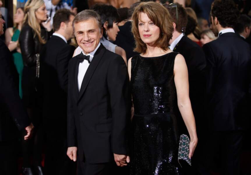 Christoph Waltz et sa femme Judith Holste