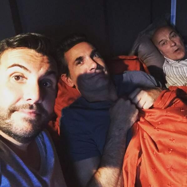 Laurent Ournac et ses campeurs reprendront très bientôt les tournages de Camping Paradis
