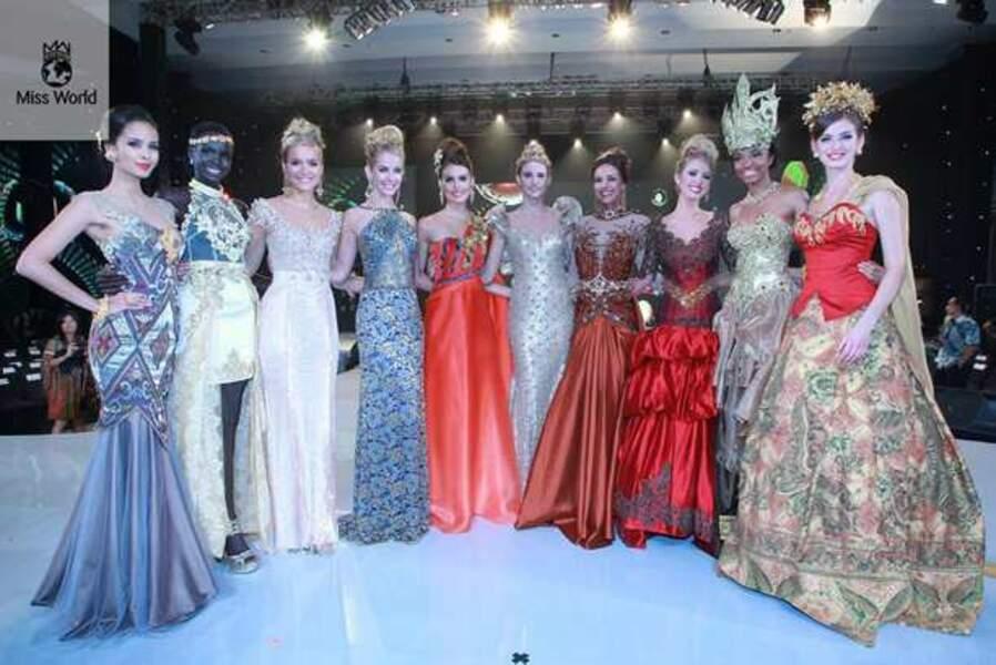 Les dix finalistes de Miss Top Model