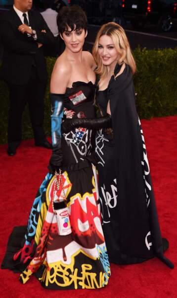 Katy Perry et Madonna