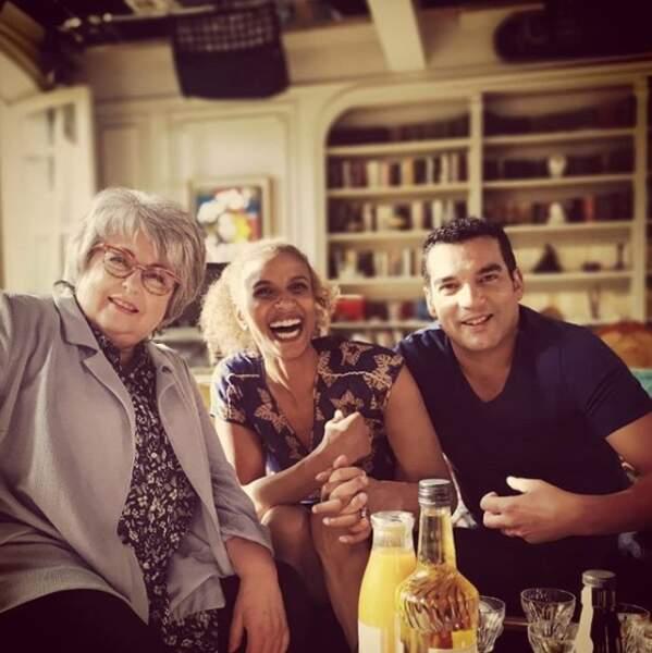 Marilyne, Mo et Enric : pause apéro à la coloc' !