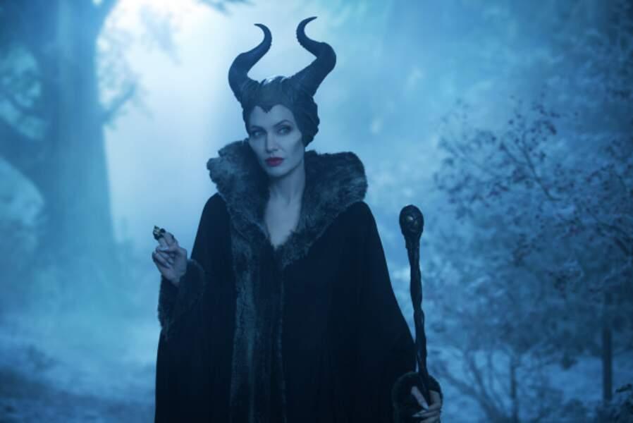 Angelina Jolie, sublime reine de Maléfique (2014)