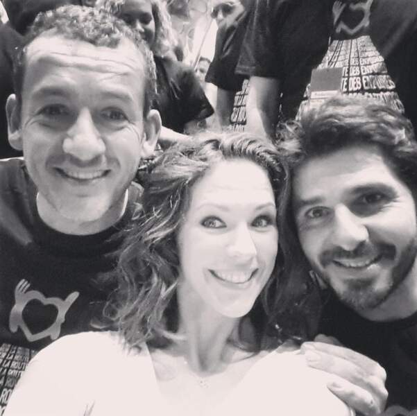 Dany Boon/Lorie/Patrick Fiori : le selfie !