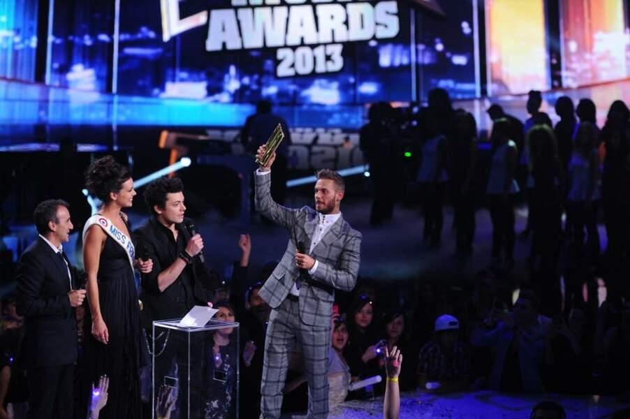 M Pokora remporte son neuvième trophée