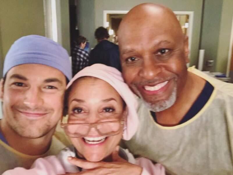 Derniers moments de complicité avant le clap de la fin de la saison 13 de Grey's Anatomy