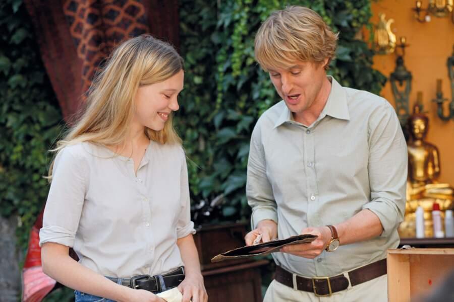 Woody Allen lui offre en 2011 un rôle dans Minuit à Paris, avec Owen Wilson