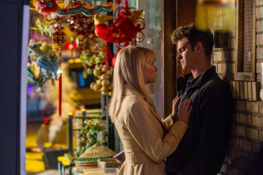 Le couple Emma Stone-Andrew Garfield revient dans The Amazing Spider-Man 2 : le destin d'un héros (2014)