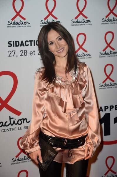 La comédienne Plus belle la vie Fabienne Carat