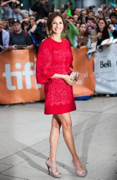 Julia Roberts, une Pretty Woman sur le tapis rouge