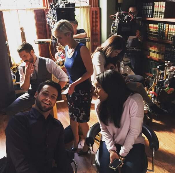 Sur le tournage de Murder, l'équipe aussi est au diapason…de la bonne humeur !