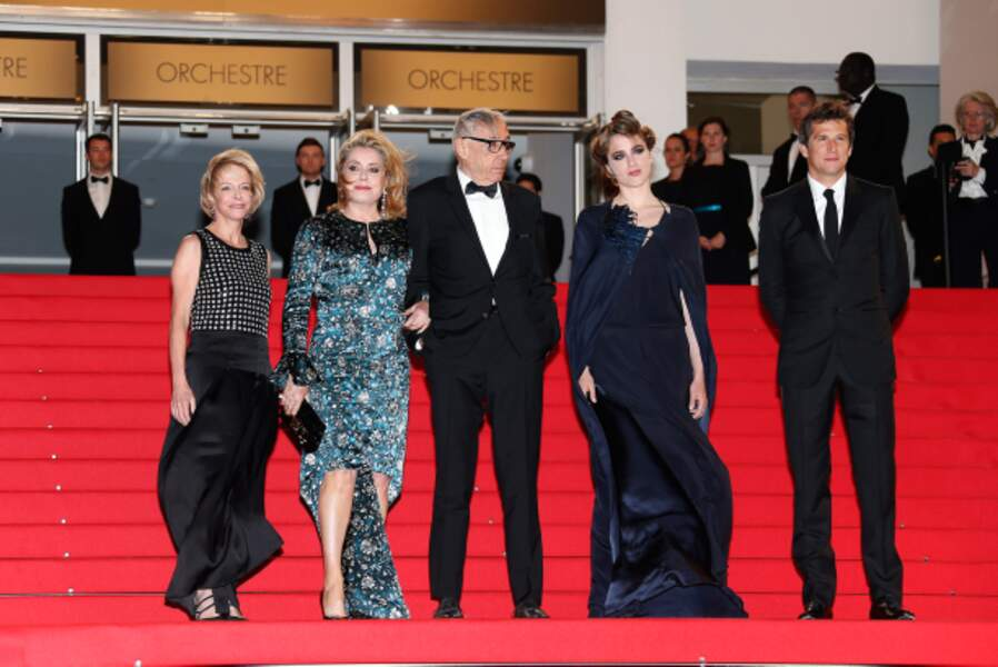 Catherine Deneuve, Andre Techine, Adele Haenel, Guillaume Canet