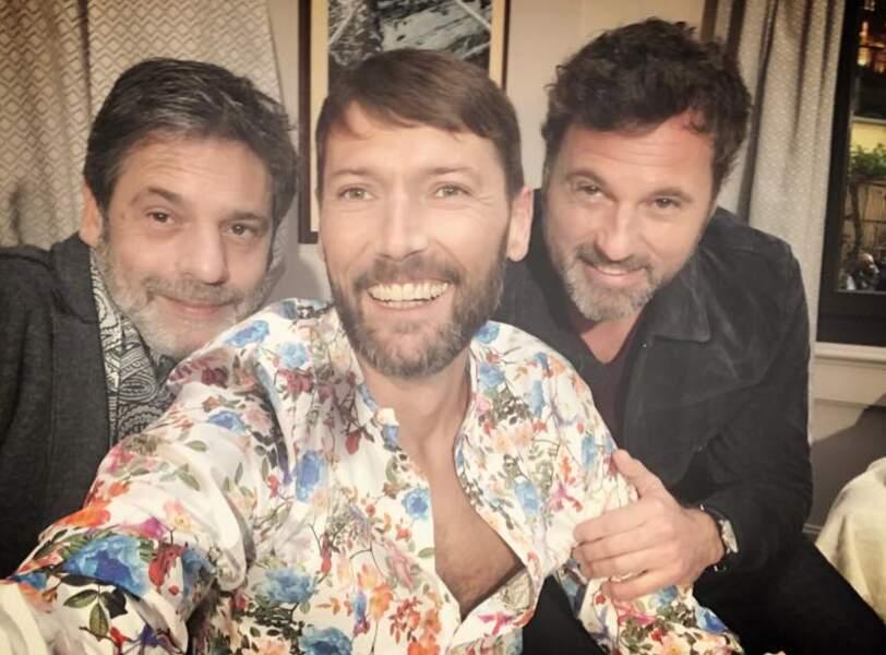Laurent Kérusoré aime toujours autant les selfies