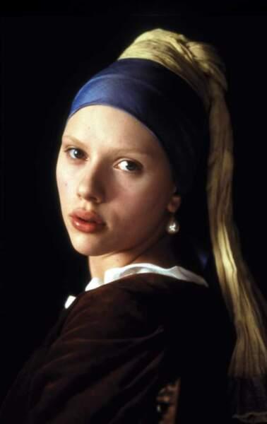 Quel beauté ! Dans La Jeune Fille à la perle (2003)