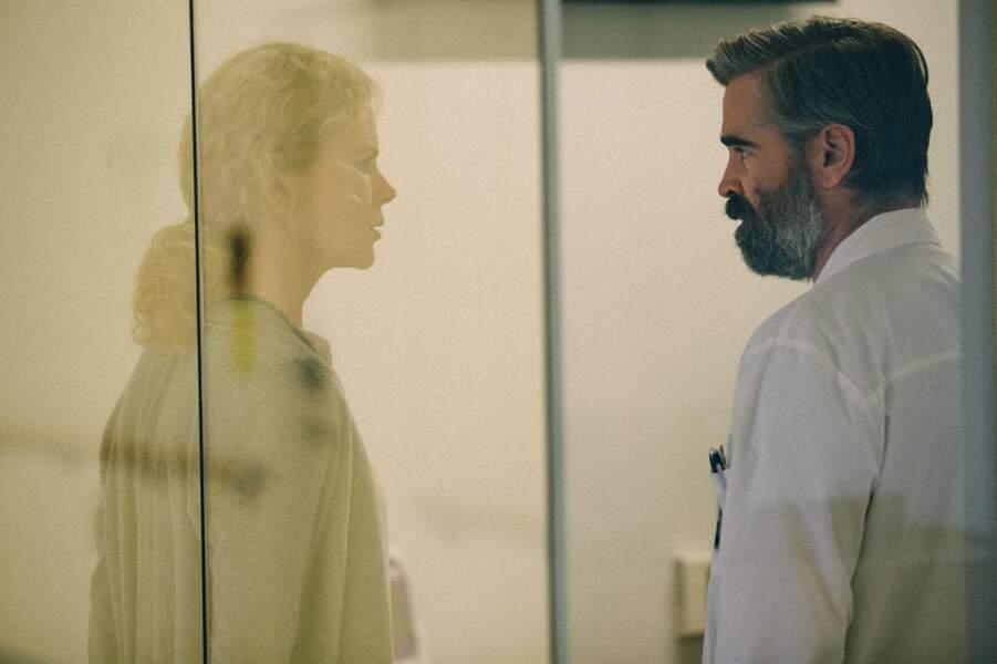 Glaciale et glaçante face à Colin Farrell dans Mise à mort du cerf sacré (2017)