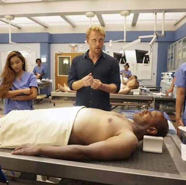 Kevin McKidd réalise un des épisodes de la saison 12 de Grey's Anatomy