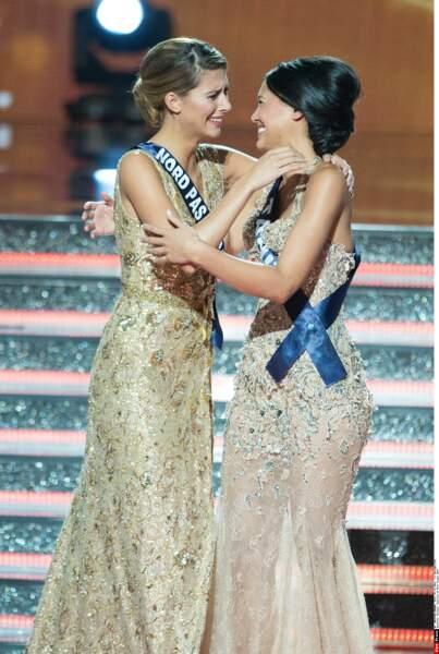 Elle a été félicitée par sa première dauphine, Miss Tahiti…