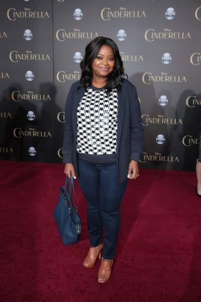 Octavia Spencer était présente sur le tapis rouge