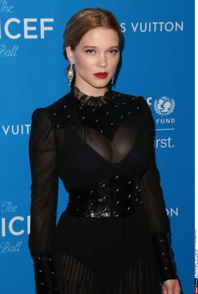 À 31 ans l'actrice Léa Seydoux a déjà une belle carrière derrière elle
