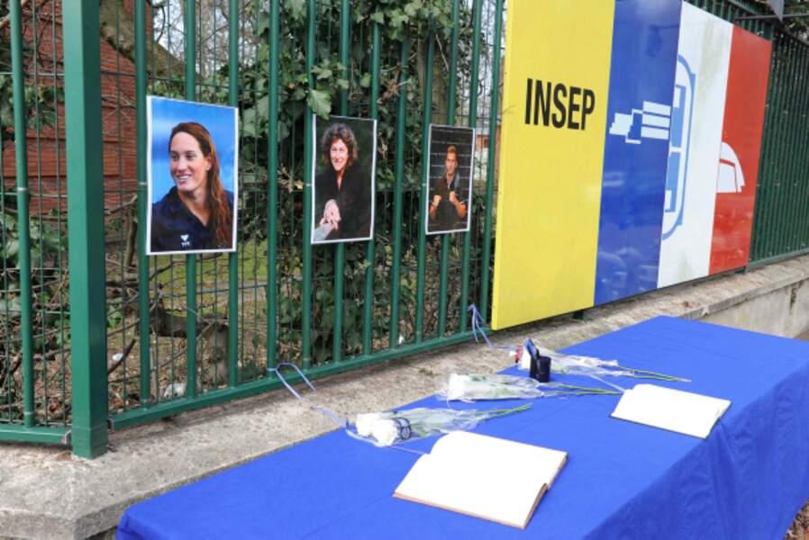 L'Insep a rendu hommage aux victimes de Dropped