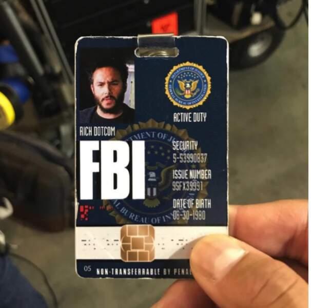 Le criminel Rich Dotcom serait-il de retour dans Blinspot ? Et en tant qu'agent du FBI en plus ?