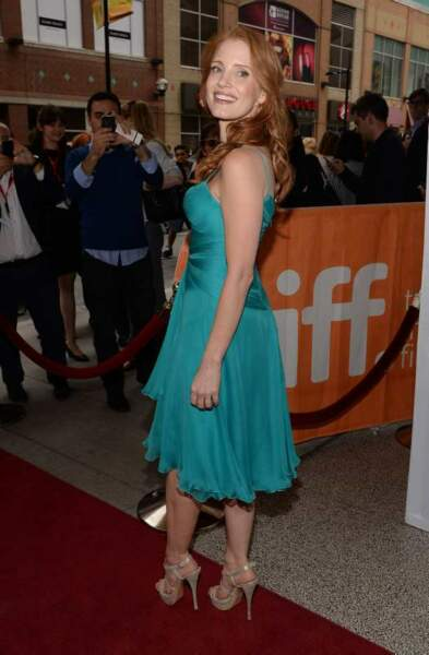 Jessica Chastain à l'avant-première de The Disappearance of Elenor Rigby