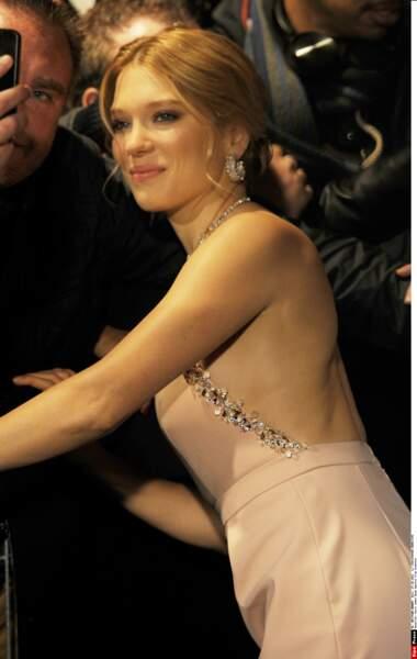 La belle est toujours là pour ses fans !